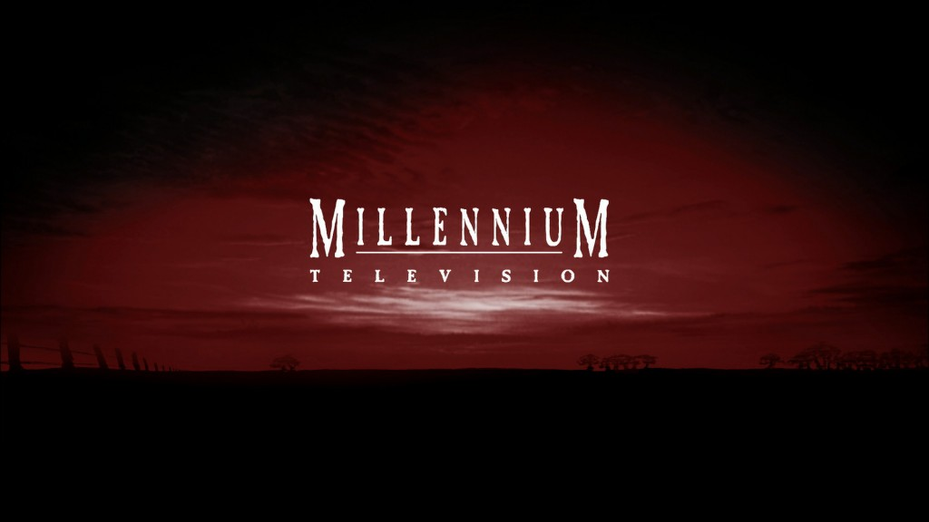 MILLENNIUM TELEVISION Logo from closing titles McLeods Daughters