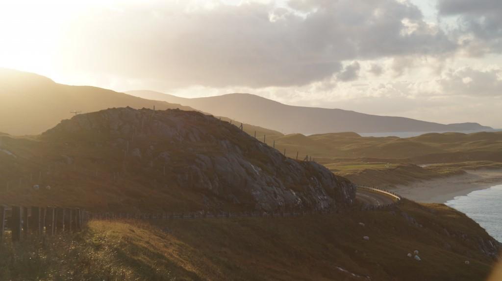 Sunset NW Isles of Scotland