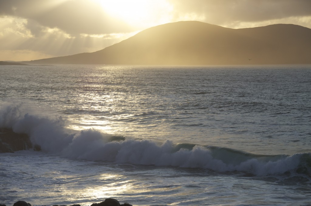 Evening light, Isle of Harris Western Isles of Scotland