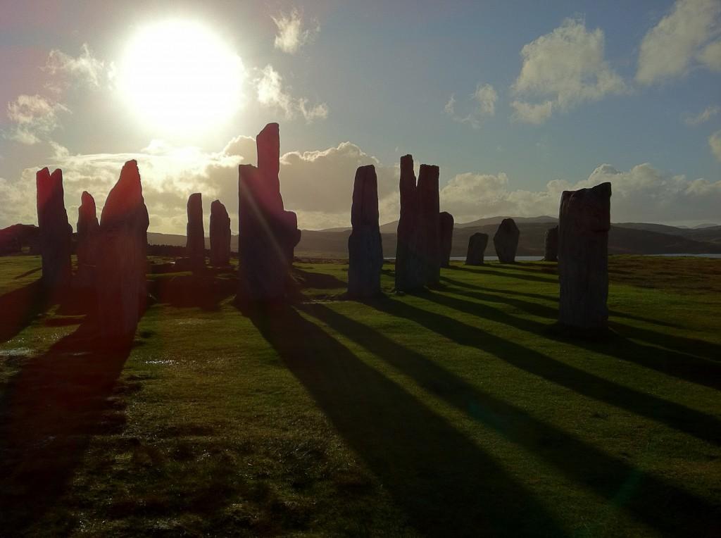 Callanish standing stones, Isle of Lewis, NW Scotland