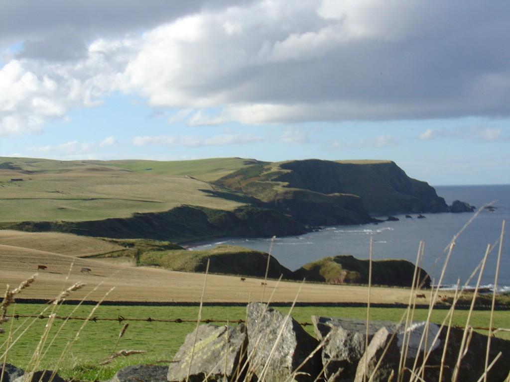 Glorious coast of NE Scotland, close to Pennan