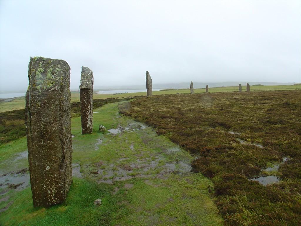 Ring of Brodgar, Orkney Islands NE Scotland