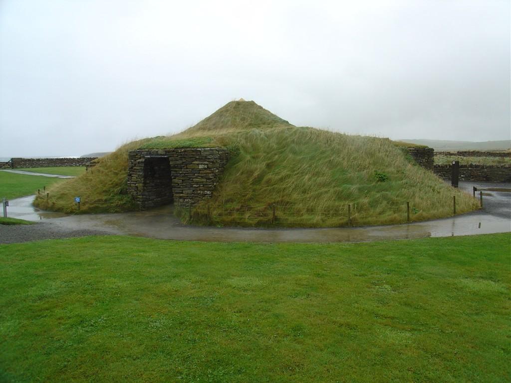 Neolithic house at Maes Howe, NE Scotland