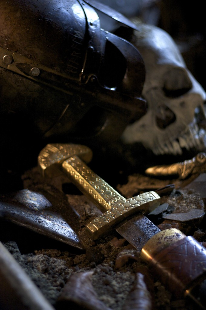 Viking treasure in a longship grave, Scotland